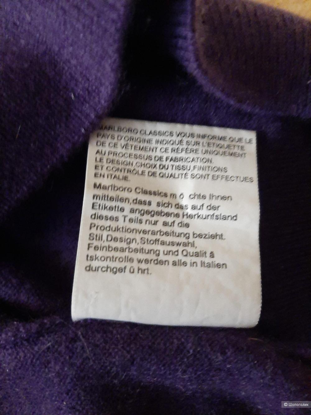 Кашемировый свитер  MCS размер L  48-50