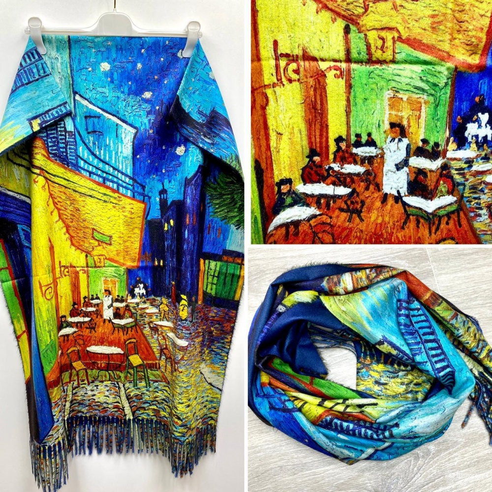 Палантин шарф картины GREAT ART, 180/65