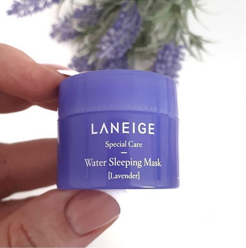Ночная увлажняющая маска с лавандой Laneige