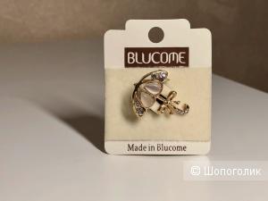 Брошь Blucome