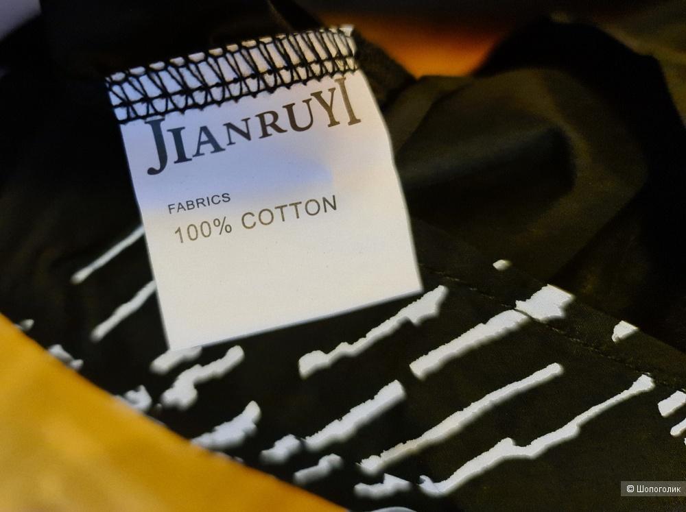 Блуза Jian Ruyi, размер 52, 54, XXL