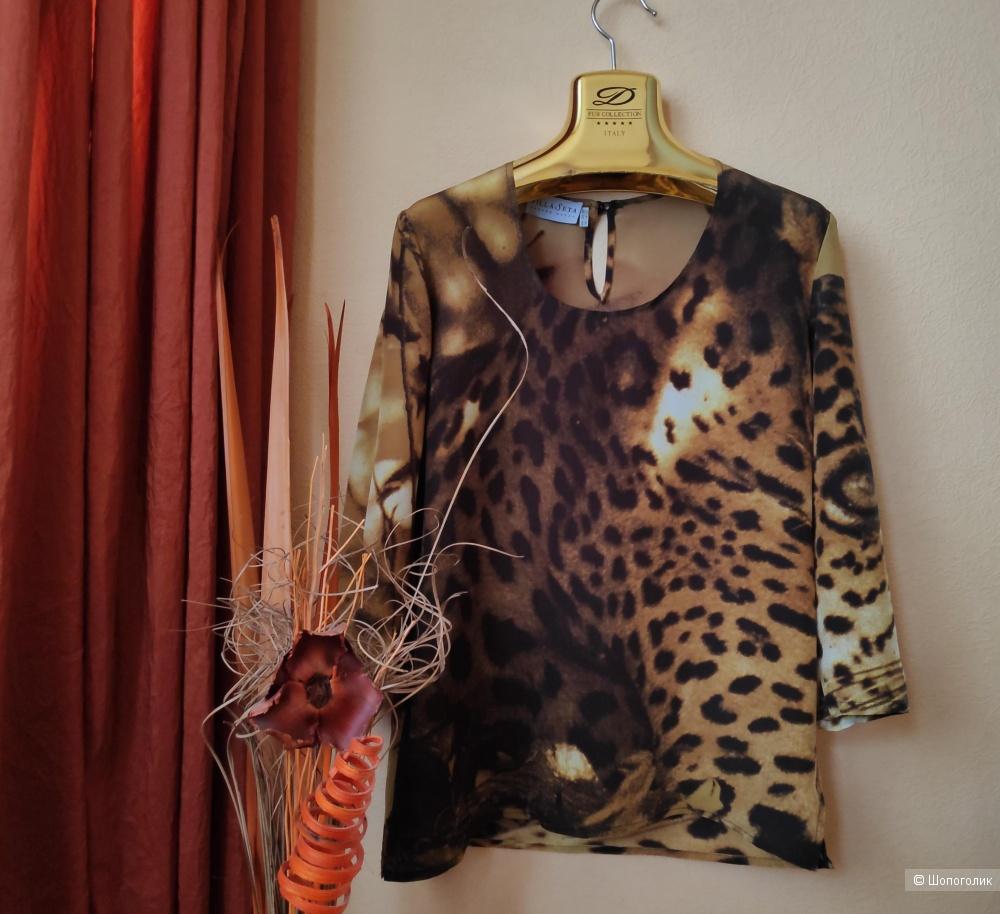 Блуза VILLA SETA. Маркировка 44 IT/ 40 EUR.