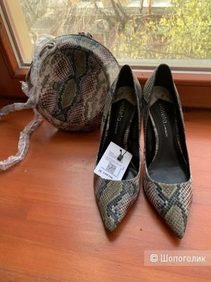 Туфли + сумка Violeta by Mango 39 размер