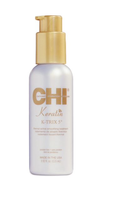 CHI Keratin K-Trix 5 - Разглаживающее средство для волос 115мл