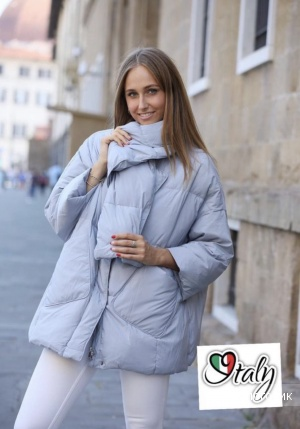 Пуховик куртка seven 7 degrees italy, oversize