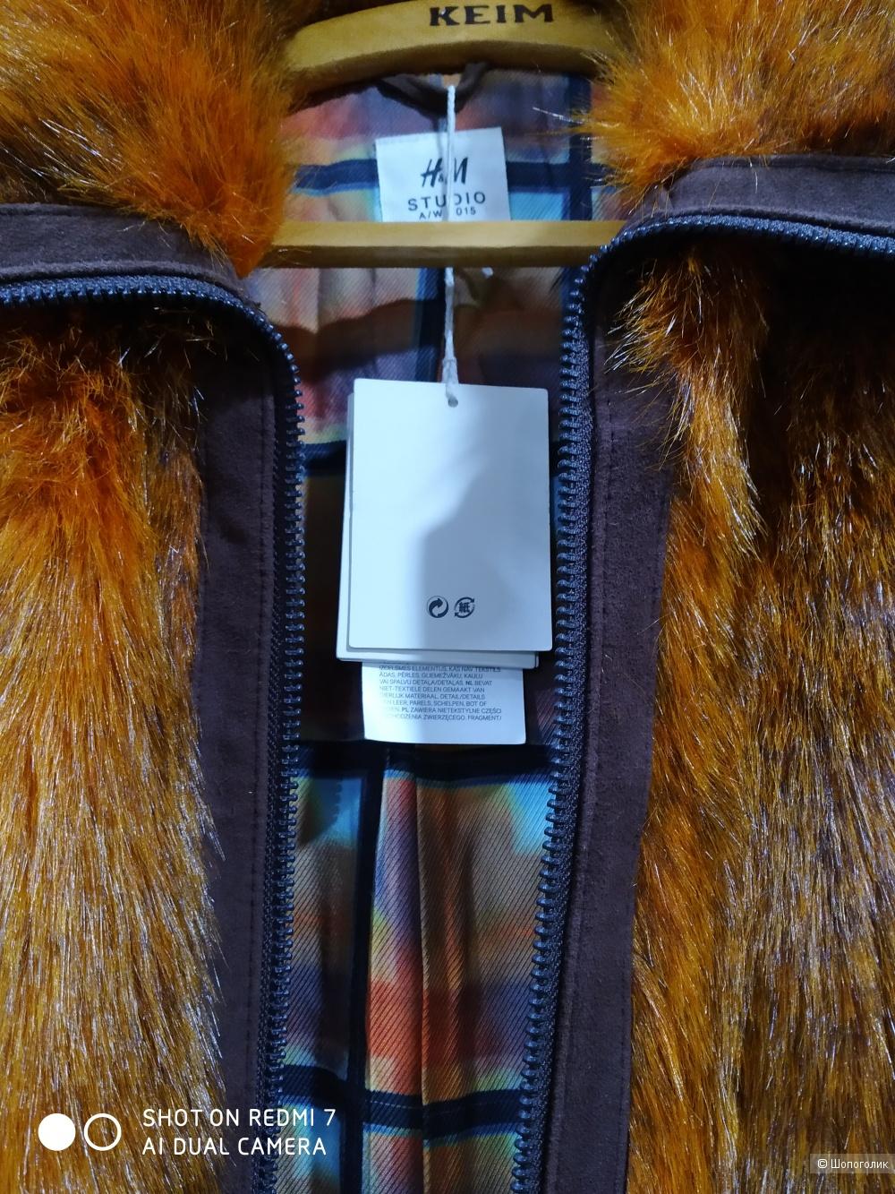 Шуба  H&M studio размер 46/48