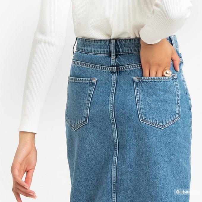 Джинсовая юбка LA REDOUTE COLLECTIONS, размер 34.