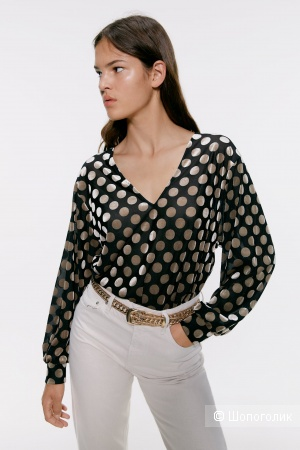 Топ блузка ZARA размер S