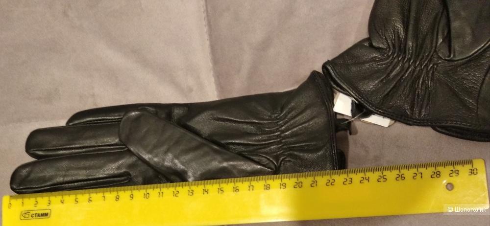 Перчатки кожаные Accessorize, p.M-L