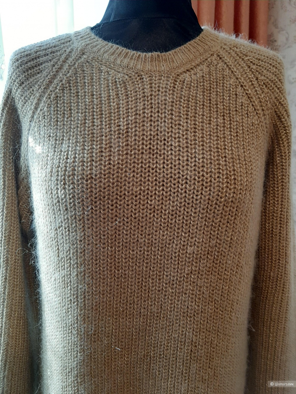 Платье - свитер VANiLIA  размер 48-50