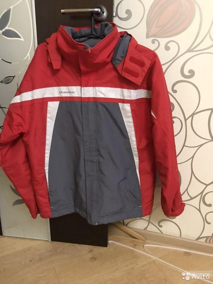 Куртка зимняя спортивная мужская Quechua  размер XL