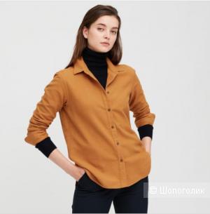 Рубашка Uniqlo, цвет белый, размер M