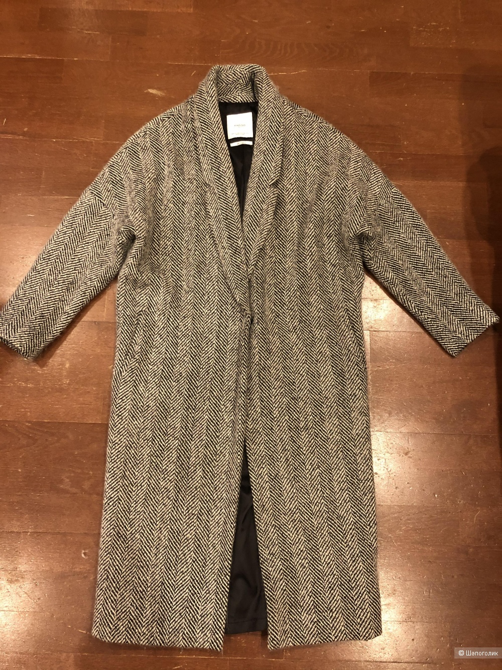 Шерстяное пальто Mango XS-S