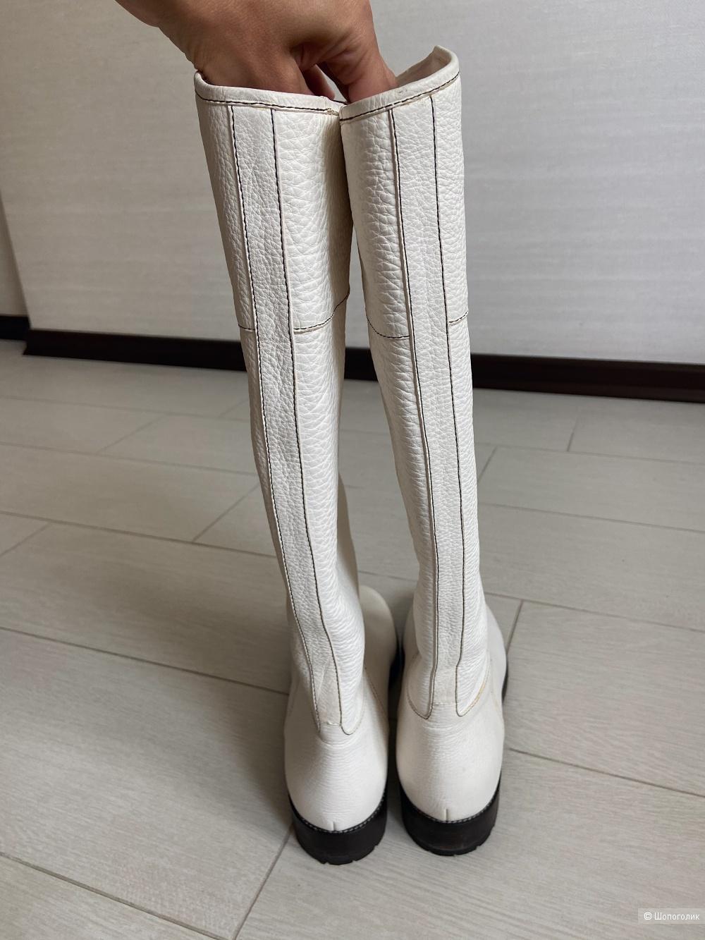 Зимние сапоги Zanotti 39-40 размер