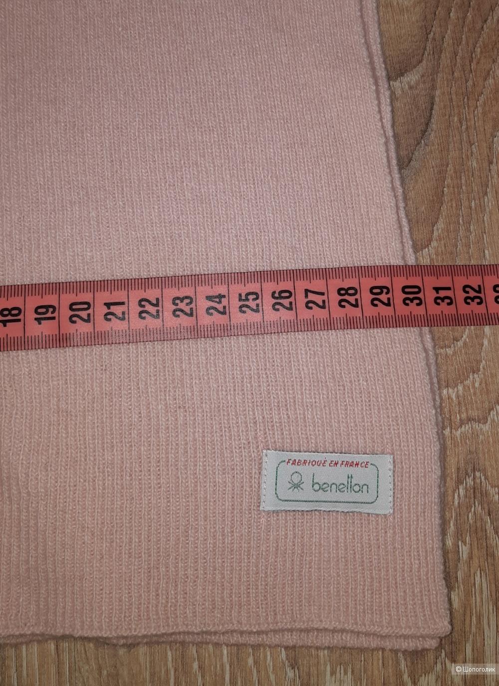Шарф benetton, размер 30*2000