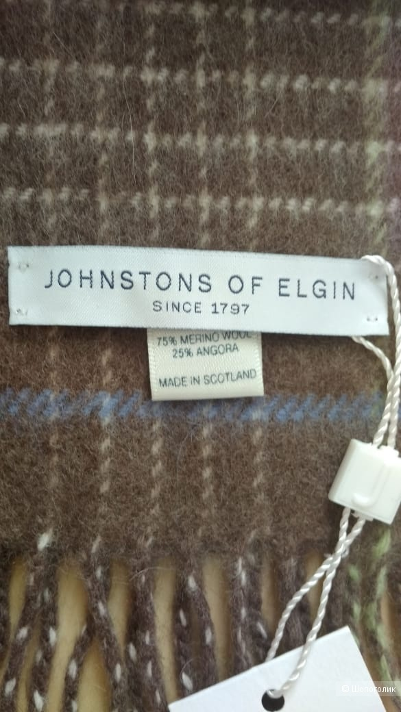 Шарф JOHNSTONS OF ELGIN, размер L