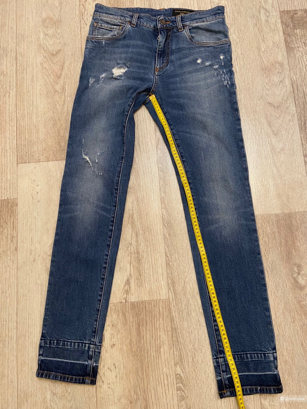 Джинсы  бойфренды Dolce&Gabbana IT46 (М)