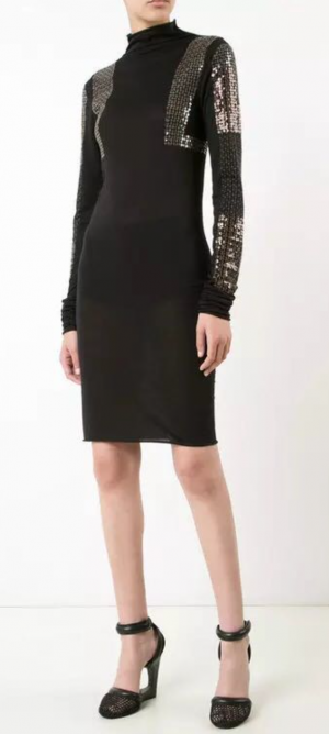 Rick Owens,платье - футболка, S