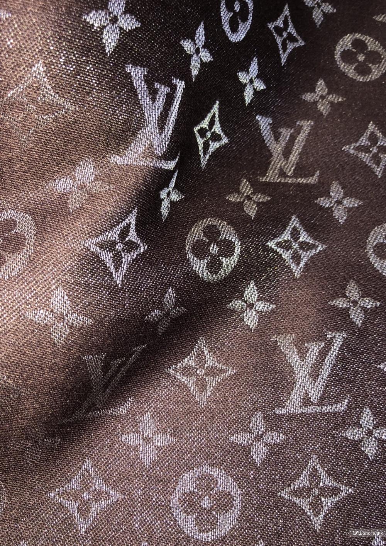 Шаль платок LOUIS VUITTON SHINE, 140/140