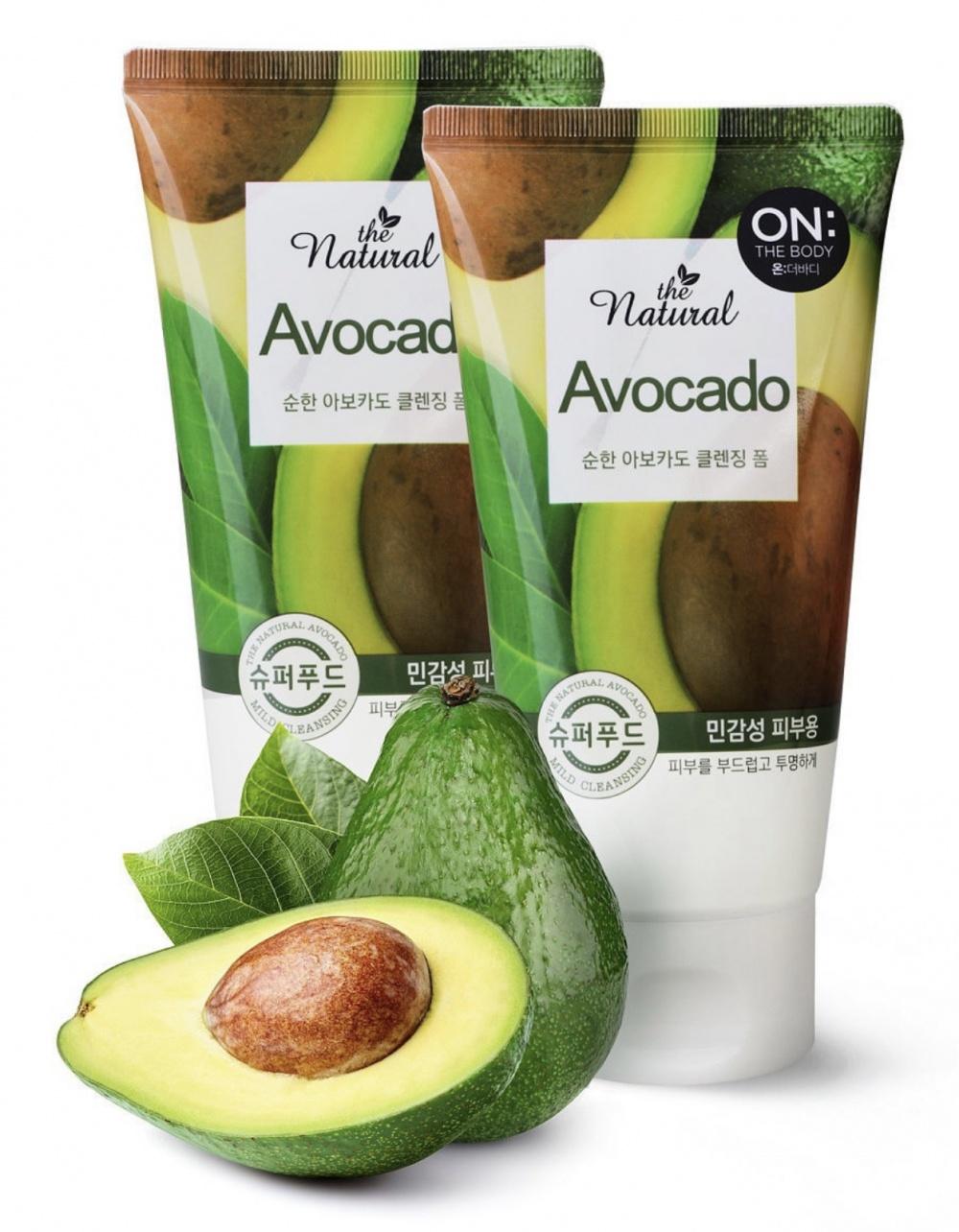 Лот Пенки для умывания On: The Body Natural Avocado, 120гр