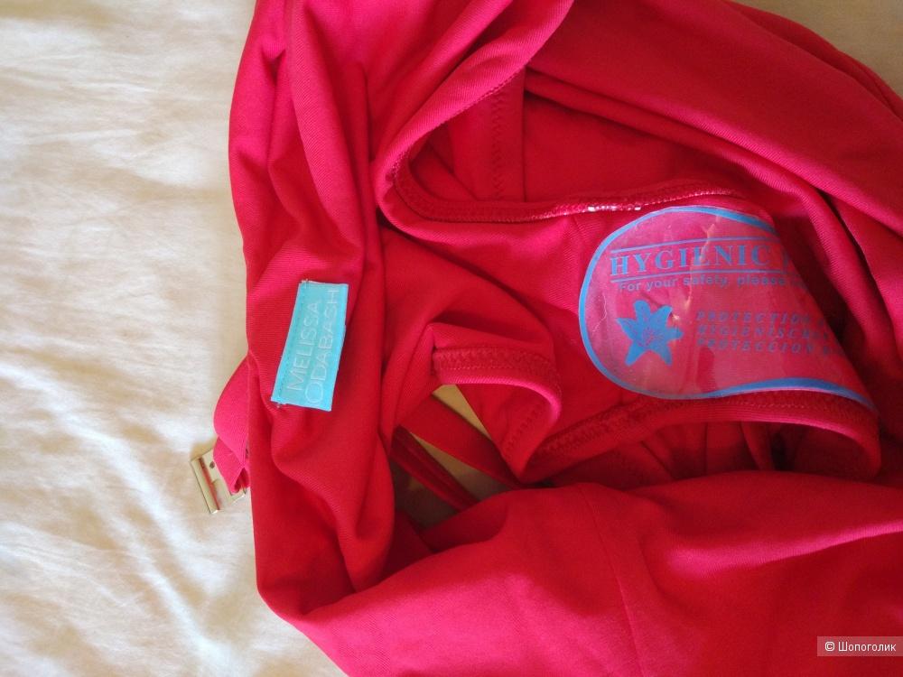 Красный слитный купальник Melissa Odabash размер 50 рус