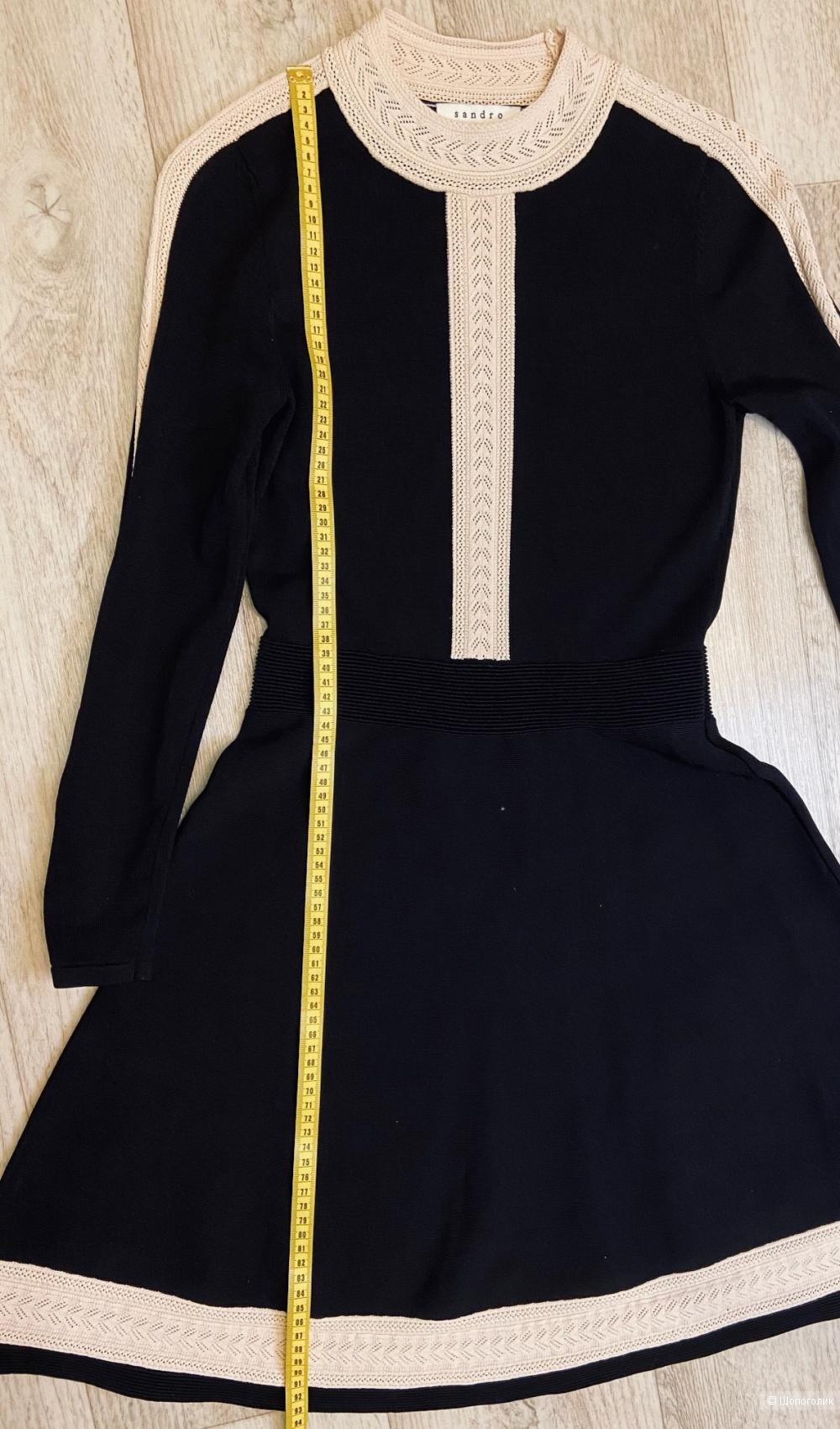 Платье Sandro трикотажное размер 3 (44-46)
