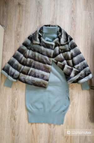 Полушубок - куртка Calvin Klein, размер М