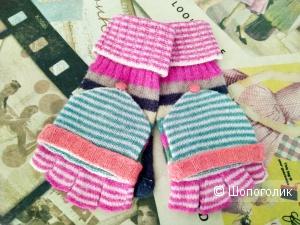 Перчатки женские шерстяные размер от 7 до 8,5. Бесплатно.