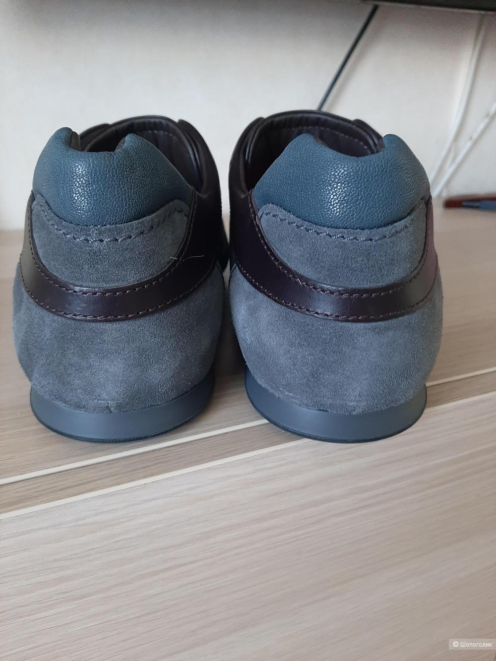 Кожаные кроссовки (кеды, ботинки) Hogan, р 12 на 45