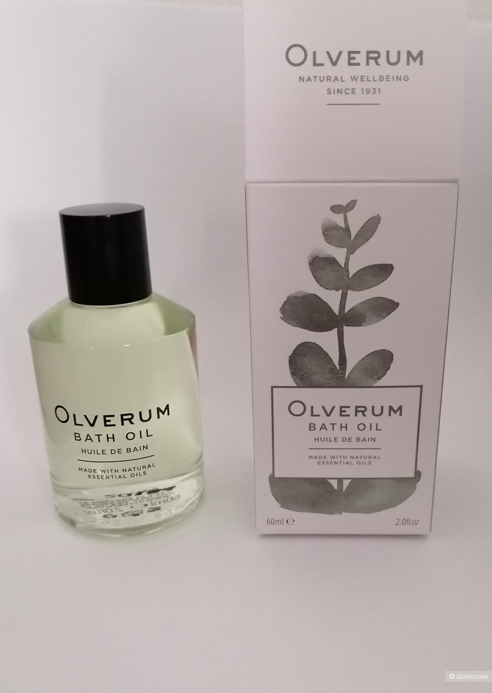 Масло для ванны Olverum объем 60 мл