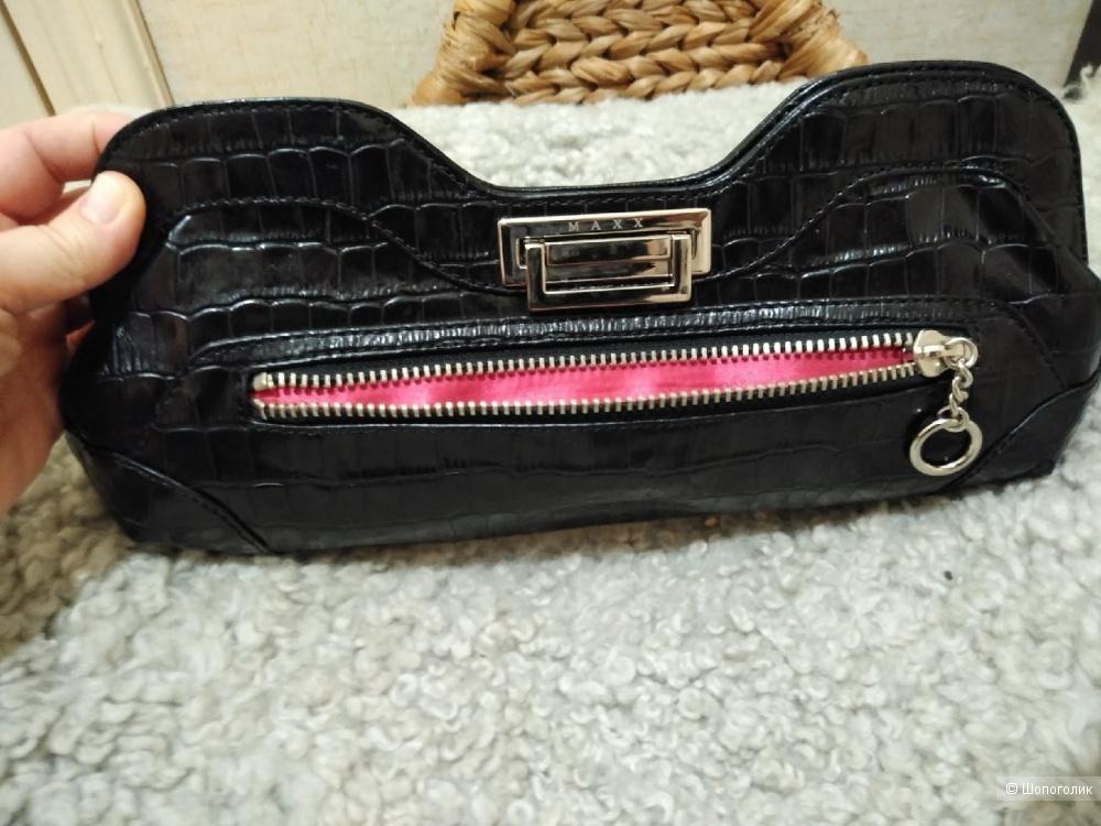 Клатч (сумка) из натуральной кожи Maxx New York.