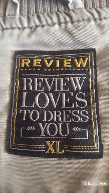 Бомбер - куртка  Review. Размер 50+-