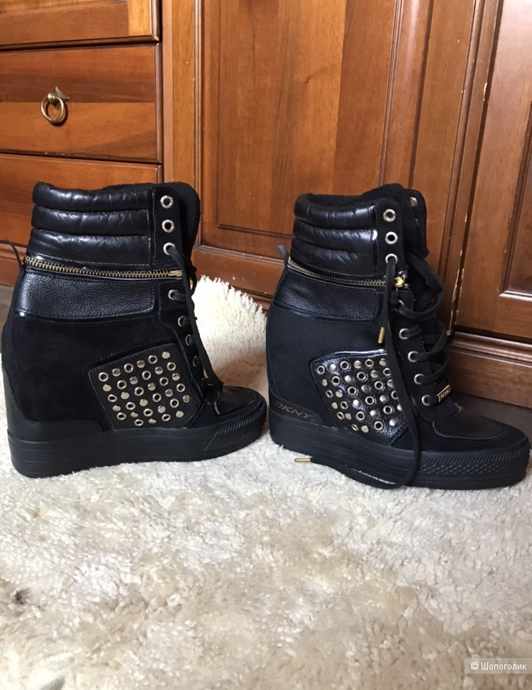 Ботинки DKNY, 38,5-39р
