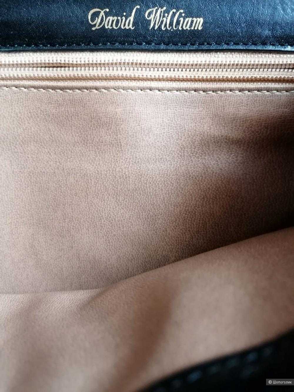 Кожаная сумка David William