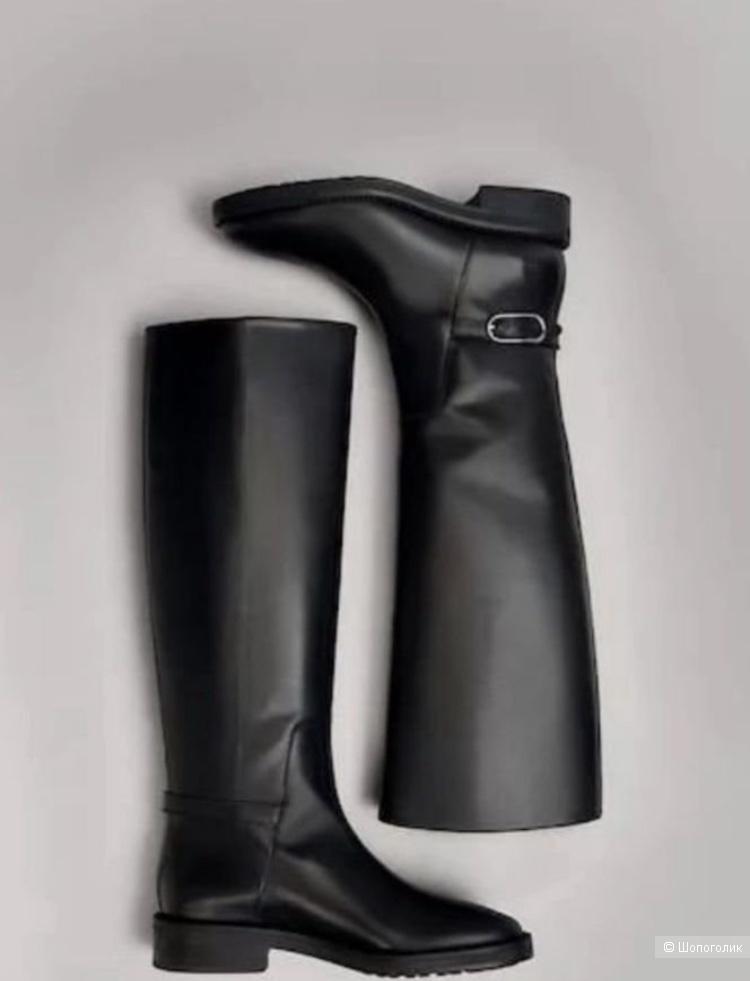Massimo Dutti кожаные сапоги, размер 40