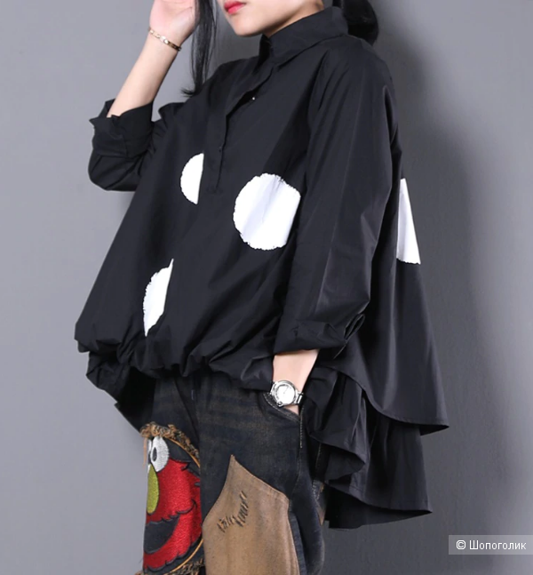Блуза HBQF, размер 46-48