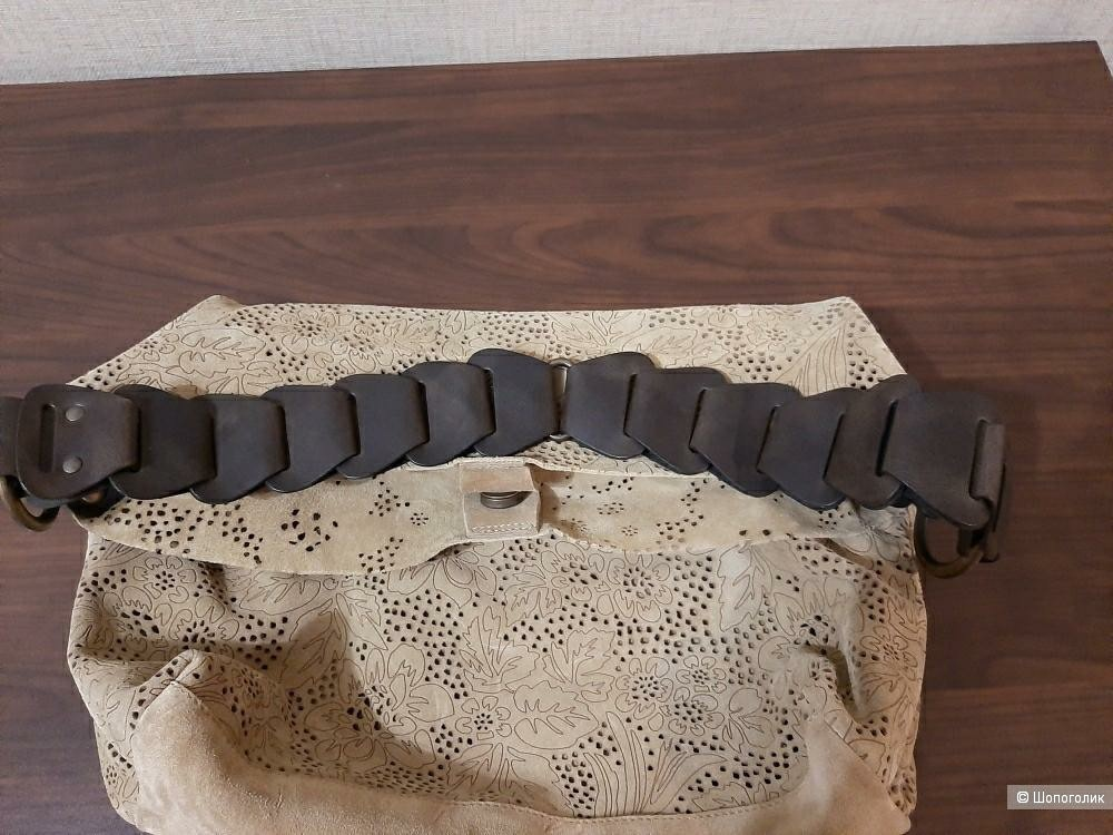 Сумка Genuine  Leather, размер one size