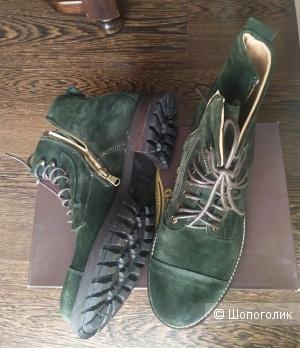 Замшевые мужские ботинки, 43р