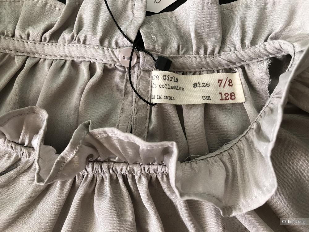 Блуза Zara, р128, 7-8 лет