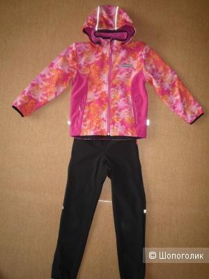 Куртка демисезонная HUPPA софтшелл + Штаны REIMA софтшелл 134-140 cm