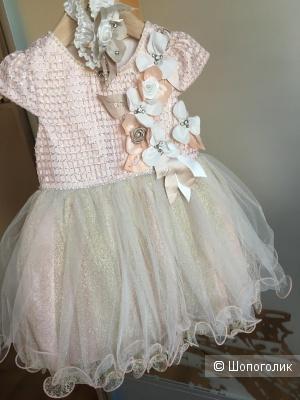Платье Lindissima размер 2-3 года