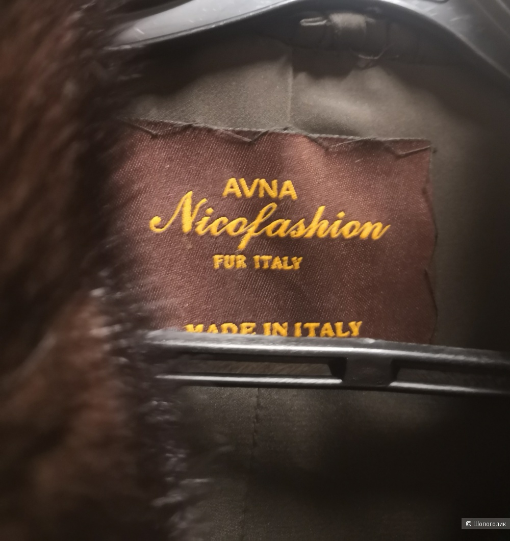 Шуба норковая Avna Nicofashion, размер 42-44