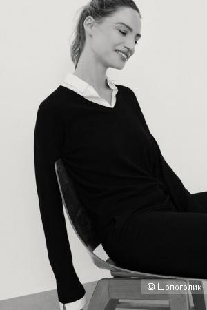 Шерстяной свитер benetton, размер 46