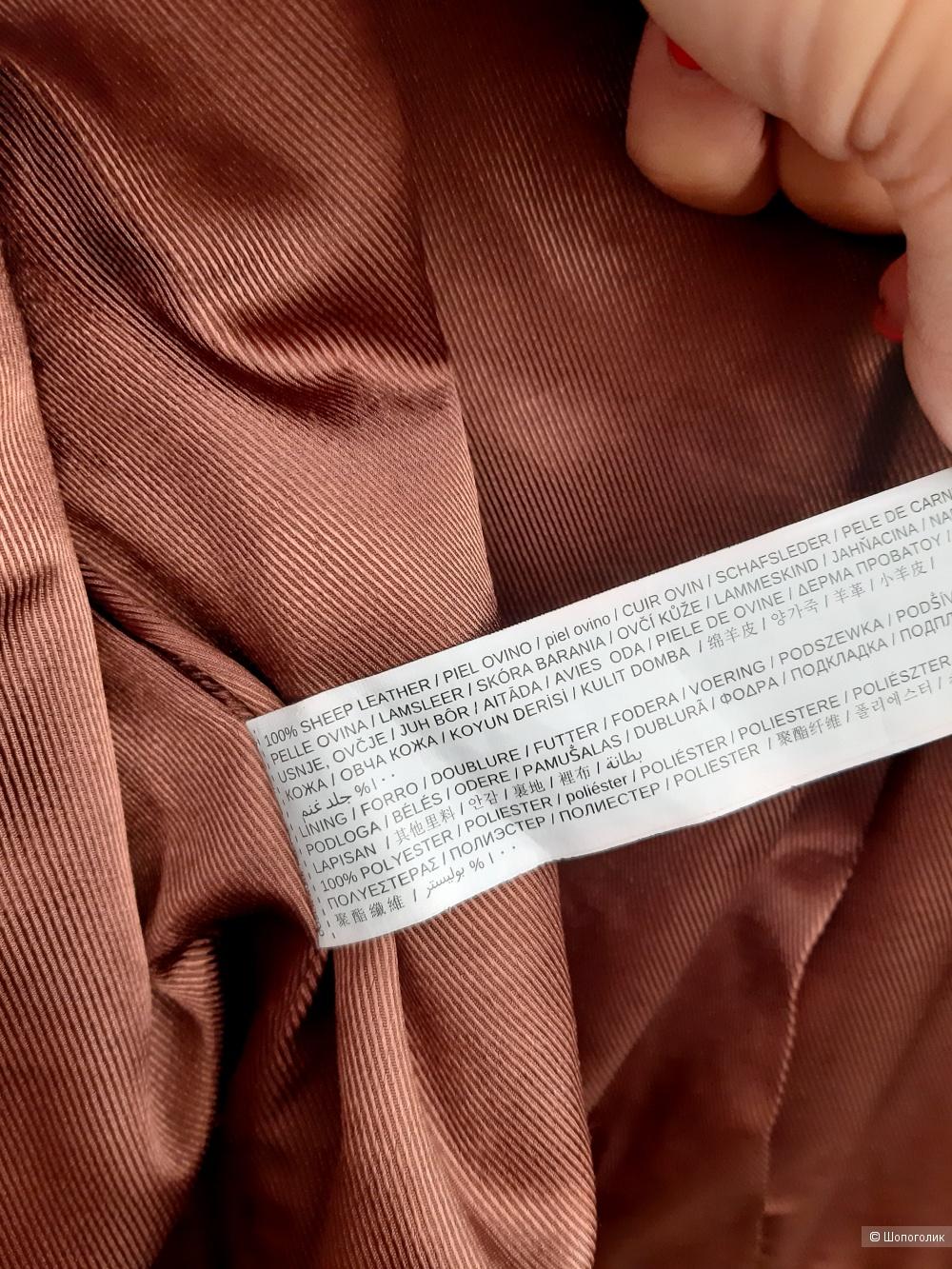 Куртка из нат.кожи Mango, S
