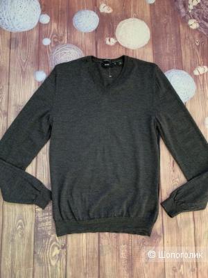 Пуловер из шерсти от Hugo Boss S/M
