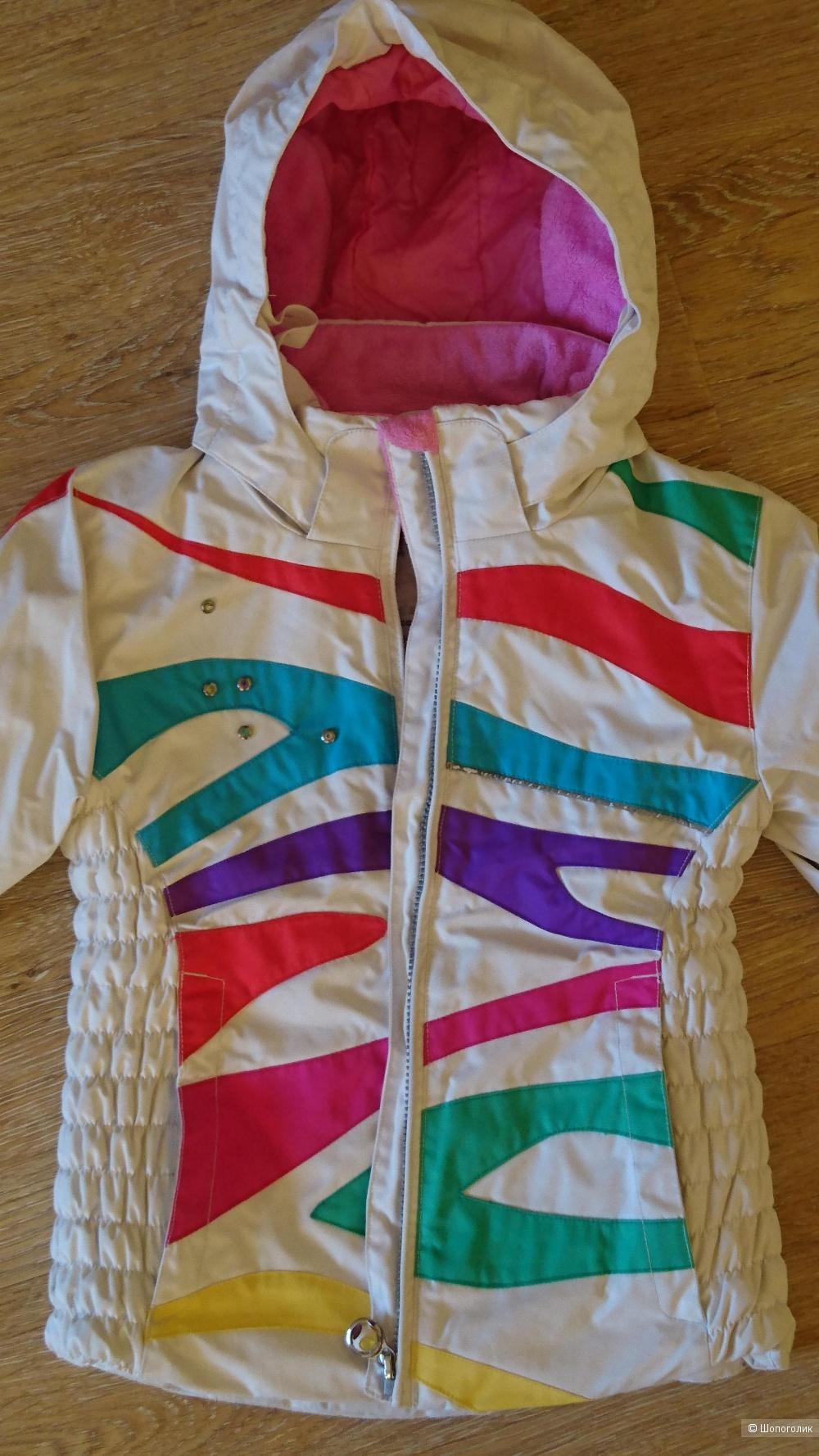 Зимняя куртка Obermeyer р. 6-8 лет