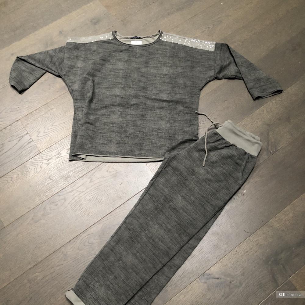 Костюм спорт шик Max collection ITALY plus size, 46-54