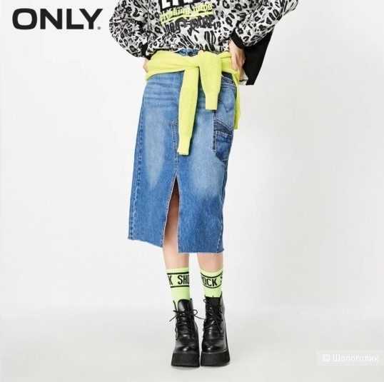 Юбка джинсовая ONLY на 44-46 р-р
