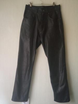 Брюки кожаные размер 29
