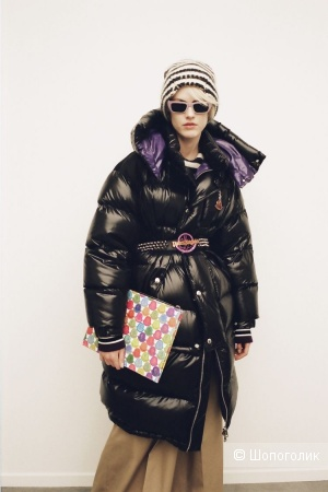 Пуховик пальто MONCLER PALM ANGELS, 42-48